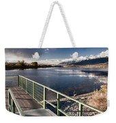 Fishing Dock Weekender Tote Bag