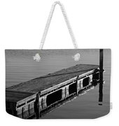 Fishing Dock Weekender Tote Bag by Frozen in Time Fine Art Photography