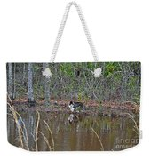 Fishing Feline Weekender Tote Bag