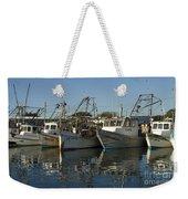 Fishing Fleet Weekender Tote Bag