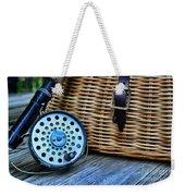Fishing - Fly Fishing Weekender Tote Bag
