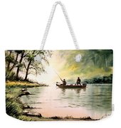 Fishing For Bass - Greenbrier River Weekender Tote Bag