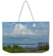 Fishing From The Pier Weekender Tote Bag