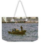 Fishing In Hong Kong Vintage  Weekender Tote Bag