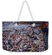 Fishing In Maine Weekender Tote Bag