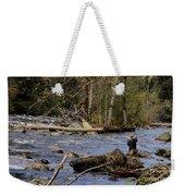 Fishing In Pacific Northwest Weekender Tote Bag