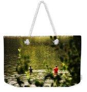 Fishing In The Pond Weekender Tote Bag