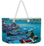 Fishing Livelihood  Weekender Tote Bag
