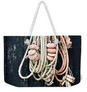 Fishing Net Weekender Tote Bag
