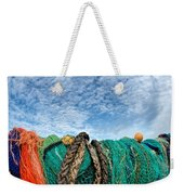 Fishing Nets And Alto-cumulus Clouds Weekender Tote Bag