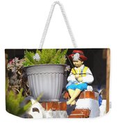Fishing Off The Front Porch Weekender Tote Bag