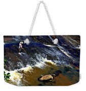 Fishing On The South Fork River Weekender Tote Bag