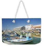Fishing Port In Jaffa Tel Aviv Israel Weekender Tote Bag