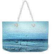 Fishing Weekender Tote Bag by Sandy Keeton