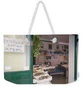 Fishing Shop Weekender Tote Bag