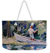 Fishing Spruce Creek Weekender Tote Bag