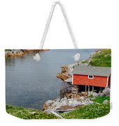 Fishing Stage Little Fogo Island Newfoundland Weekender Tote Bag