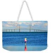Fishing Tampa Bay Weekender Tote Bag by David Lee Thompson