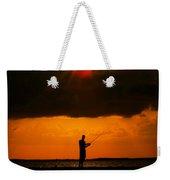 Fishing The Sun Weekender Tote Bag