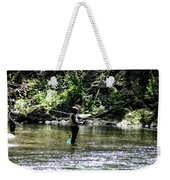 Fishing The Wissahickon Weekender Tote Bag