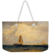Fishing Upon The Blythe-sand Weekender Tote Bag