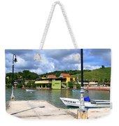 Fishing Village Puerto Rico Weekender Tote Bag