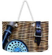 Fishing - Vintage Fly Fishing Weekender Tote Bag