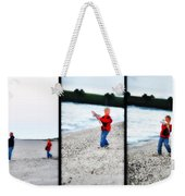 Fishing With Dad - Catch And Release Weekender Tote Bag