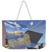 Fishing With Paint Weekender Tote Bag
