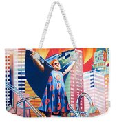 Fishman In Vegas Weekender Tote Bag by Joshua Morton