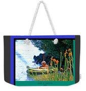 Fishn My Way Weekender Tote Bag