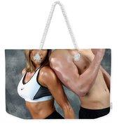 Fitness Couple 43 Weekender Tote Bag
