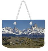 Fitz Roy Range In Springtime 2 Weekender Tote Bag