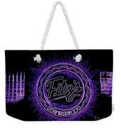 Fitz's In Purple Neon Weekender Tote Bag