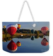 Five Aloft Weekender Tote Bag by Mike  Dawson