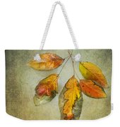Five Autumn Leaves Weekender Tote Bag