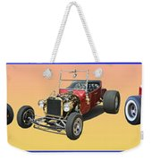 Five Bad Big Boys Rides Weekender Tote Bag