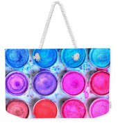 Five By Four Watercolor Weekender Tote Bag