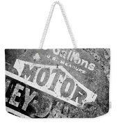 Five Gallon Motorcycle Oil Can Weekender Tote Bag