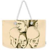 Five Headed Figure Weekender Tote Bag