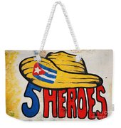 Five Heroes Cuba Weekender Tote Bag