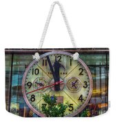 Five To Twelve Weekender Tote Bag