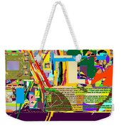 Fixing Space 6e Weekender Tote Bag
