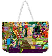 Fixing Space 6f Weekender Tote Bag by David Baruch Wolk