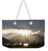 Fjord Sunset Weekender Tote Bag