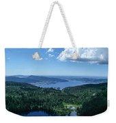 Fjord View Weekender Tote Bag