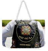 Fla Post 4143 Vfw Rider Color Usa Weekender Tote Bag