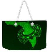 Fla Sprocket Green Weekender Tote Bag