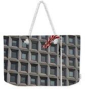 Flag And Windows Weekender Tote Bag