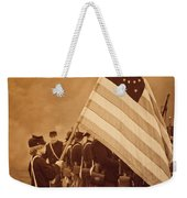 Flag Carrier Weekender Tote Bag